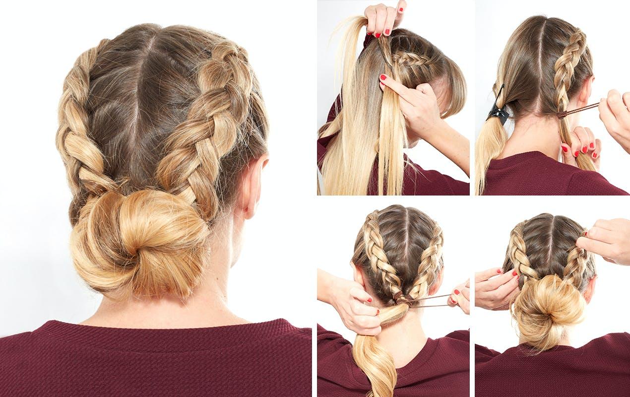 How to make a dutch braid